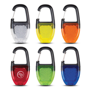 Reflective Carabiner Key Light