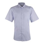 Men's Henley Striped Short Sleeve Shirt