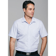 Men's Bayview Wide Stripe Short Sleeve Shirt