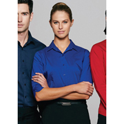 Ladies Mosman Stretch 3/4 Sleeve Shirt