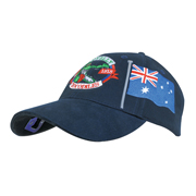 Brushed Heavy Cotton with Bottle Opener & Australian Flag