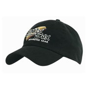 Enzyme Washed Fitted Cap