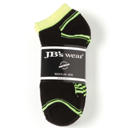 JB's Hi Vis Ankle Sock (3 Pack)