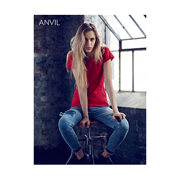 Anvil Women's Lightweight Tee