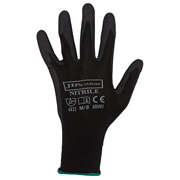 JB'S BLACK NITRILE GLOVE (12 PACK)