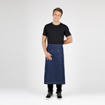 Long Waist Cotton/Denim Apron