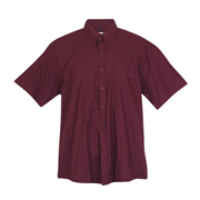Mens Short Sleeves Chmabray Shirt