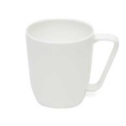 Bone China Angle Handle Mug
