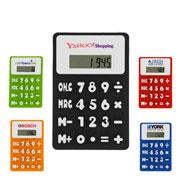 Small Rubbery Flexible Calculator