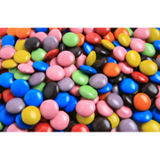 Choc Beans - Mixed Colours (SMARTIE look alike)