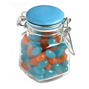 Jelly Beans In Clip Lock Jar 80G (Sticker)
