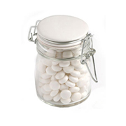 Mints In Clip Lock Jar 160G (Sticker)