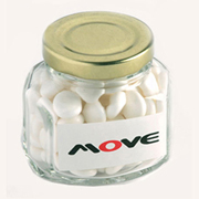 Mints in Squexagonal Jar 90G