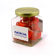 Rock Candy in Square Jar 135G