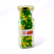 Corporate Coloured Humbugs In Tall Jar 180G