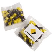 Corporate Coloured Humbugs 50G (Sticker)