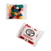 Mixed or Corporate Coloured Jelly Bean Bags 25G