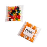 Mixed or Corporate Coloured Jelly Bean Bags 50G