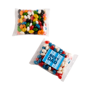Mixed or Corporate Coloured Jelly Bean Bags 100G