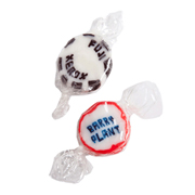 Individually Twist Wrapped Personalised Rock Candy