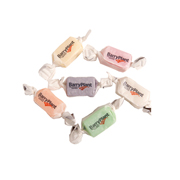 Twist Wrapped Minty Chew or Fruity Chew in Paper Wrapper (Like a Minite Wrapper)