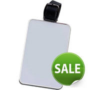 Rectangle Metal Bag Tag