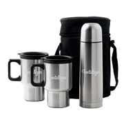 Car Mug/Vacuum Flask Set