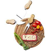 Cawdor Mini Cheese Board & Knife Set