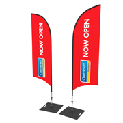 Deluxe Double Sided Bow Banner
