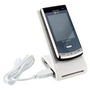 Phone holder & 4 port hub