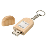 Mini Bamboo USB