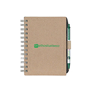 Ecolutions® Chipboard Cover NoteBook With Recycled Fiber