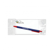 BIC® Combo 4: Sticky Note Notepad with BIC® Clic Stic™ - Medium 100 Sheets