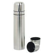 Two cup vacuum flask