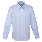 Hot Luxe Mens Premium Cotton Long Sleeve Shirt