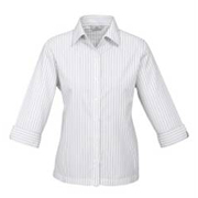 Hot Ladies 3-4 Sleeve Windsor Shirt