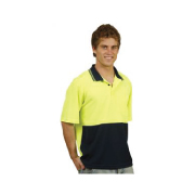 Hot Hi Vis Two Tone Safety Polo