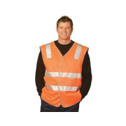 Hot Hi Vis Safety Vest 3M Reflective Tape