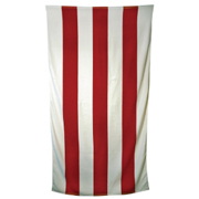 Hot Striped Beach Towel
