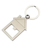 House Bottle Opener Key Ring