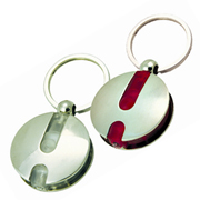 Lumina Round Torch Key Ring