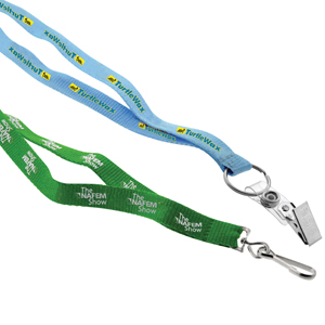 13mm Screen Printed Environmentally Friendly Lanyard