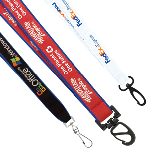 19mm High Detail Woven Recycled Lanyard
