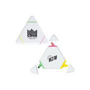White Triangular Highlight Marker