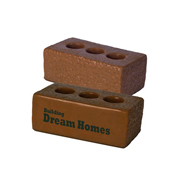 Brown House Brick Stress Reliever