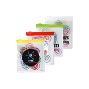 Shape Paperclips In PVC Zipper Pouch