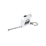 Tape Measure Flashlight Keytag