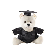 Graduation Signature Calico Bear