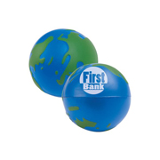 2 Colour World Globe Stress Reliever