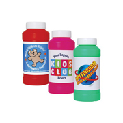 Assorted Colour Bubbles in Bottles